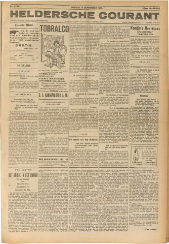 Heldersche Courant 1929-09-17