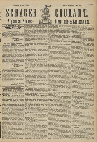 Schager Courant 1911-06-06