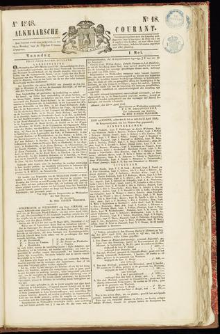 Alkmaarsche Courant 1848-05-01