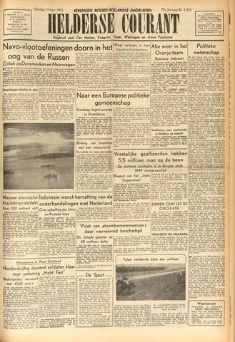 Heldersche Courant 1952-09-15
