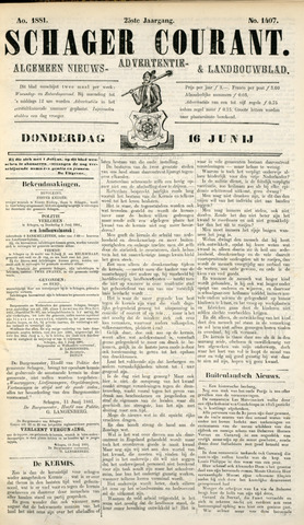 Schager Courant 1881-06-16