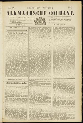 Alkmaarsche Courant 1888-08-19