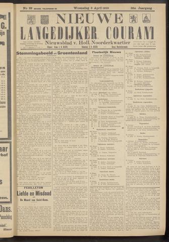 Nieuwe Langedijker Courant 1929-04-03