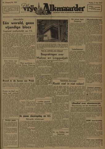 De Vrije Alkmaarder 1947-05-02