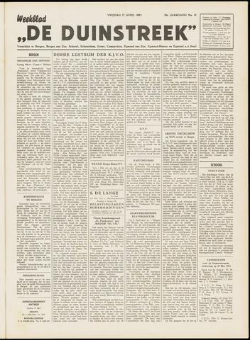 De Duinstreek 1953-04-17