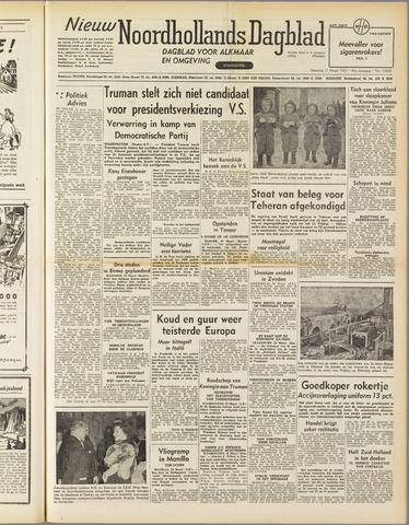 Nieuw Noordhollandsch Dagblad : voor Alkmaar en omgeving 1952-03-31