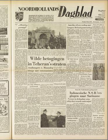 Noordhollands Dagblad : dagblad voor Alkmaar en omgeving 1953-03-03