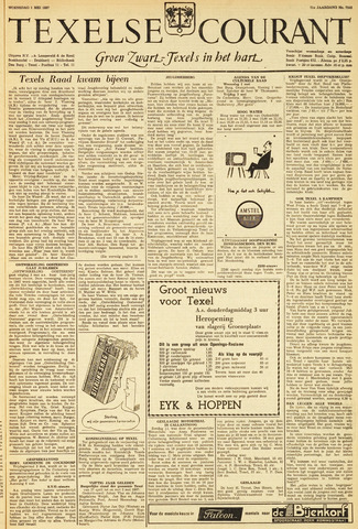 Texelsche Courant 1957-05-01