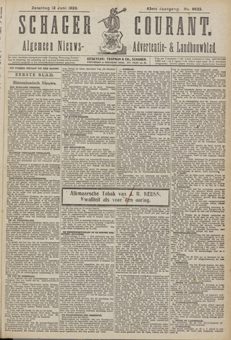 Schager Courant 1920-06-12