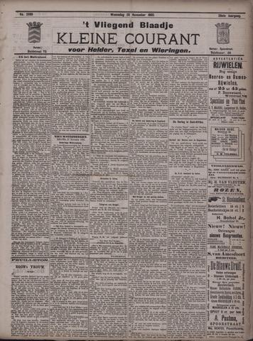 Vliegend blaadje : nieuws- en advertentiebode voor Den Helder 1900-11-28