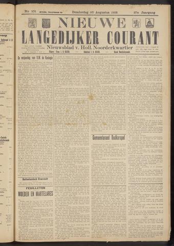 Nieuwe Langedijker Courant 1928-08-30