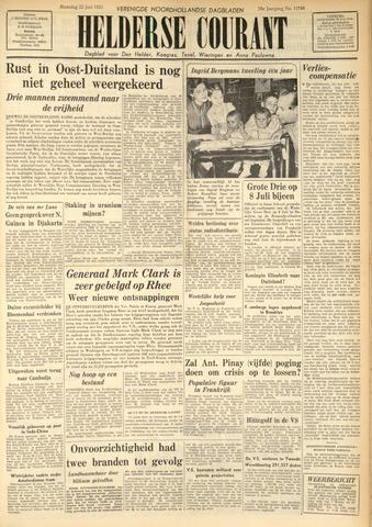 Heldersche Courant 1953-06-22