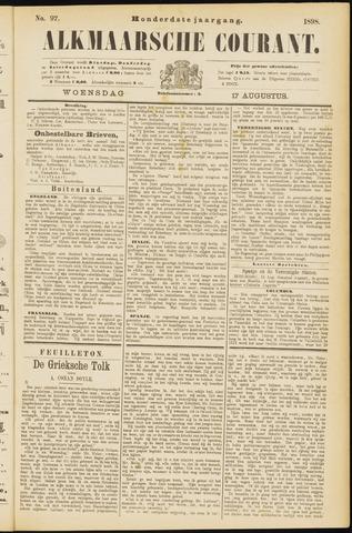 Alkmaarsche Courant 1898-08-17