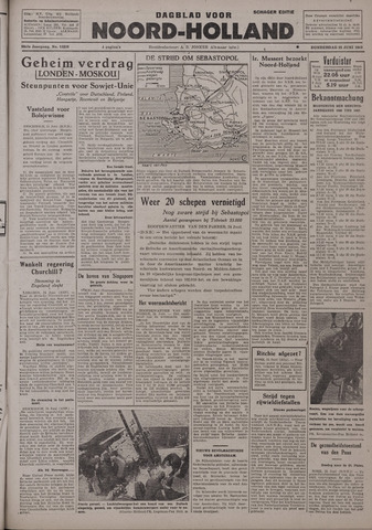 Dagblad Noord-Holland, Schager editie 1942-06-25