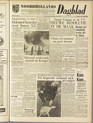 Noordhollands Dagblad : dagblad voor Alkmaar en omgeving 1961-11-18