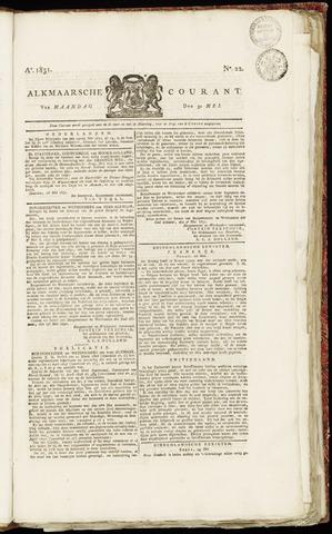 Alkmaarsche Courant 1831-05-30