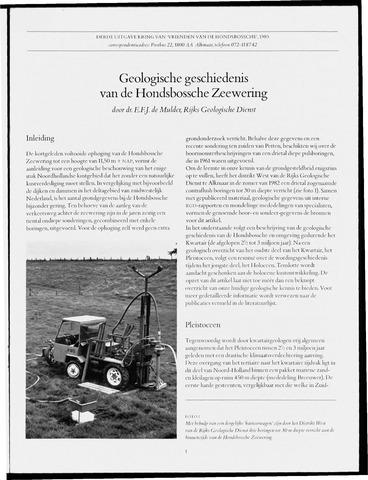 Uitgave Kring van Vrienden van de Hondsbossche 1983-06-01