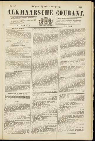 Alkmaarsche Courant 1888-07-18