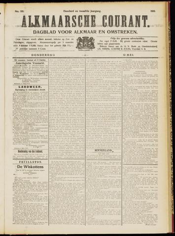 Alkmaarsche Courant 1910-05-12