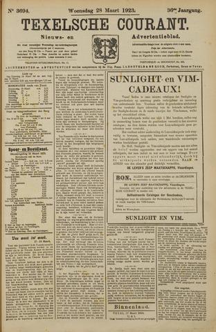 Texelsche Courant 1923-03-28
