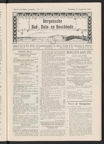 Bergensche bad-, duin- en boschbode 1935-08-10