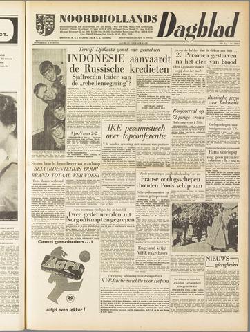 Noordhollands Dagblad : dagblad voor Alkmaar en omgeving 1958-02-06