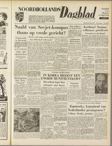 Noordhollands Dagblad : dagblad voor Alkmaar en omgeving 1953-03-23