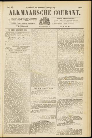 Alkmaarsche Courant 1905-03-31