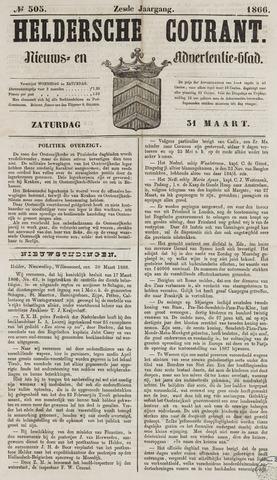 Heldersche Courant 1866-03-31