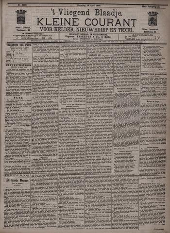 Vliegend blaadje : nieuws- en advertentiebode voor Den Helder 1896-04-25