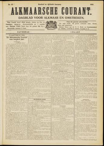 Alkmaarsche Courant 1913-03-08