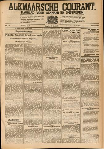 Alkmaarsche Courant 1934-06-19