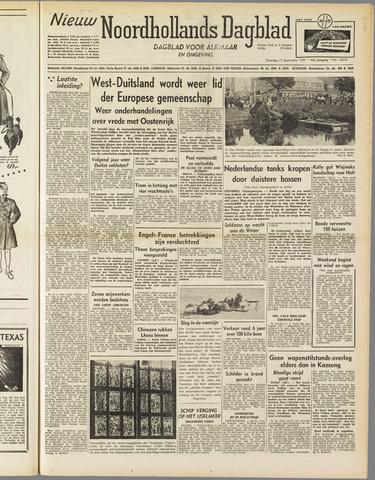 Nieuw Noordhollandsch Dagblad : voor Alkmaar en omgeving 1951-09-15