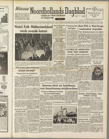 Nieuw Noordhollandsch Dagblad : voor Alkmaar en omgeving 1951-07-19