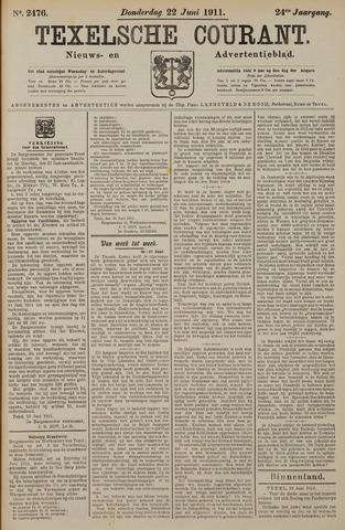 Texelsche Courant 1911-06-22