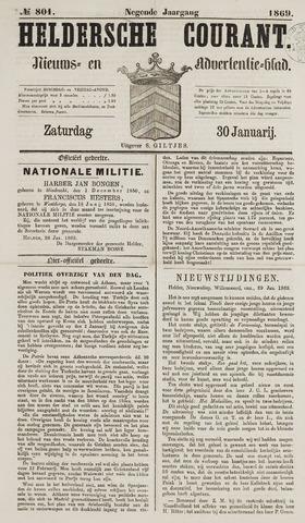 Heldersche Courant 1869-01-30