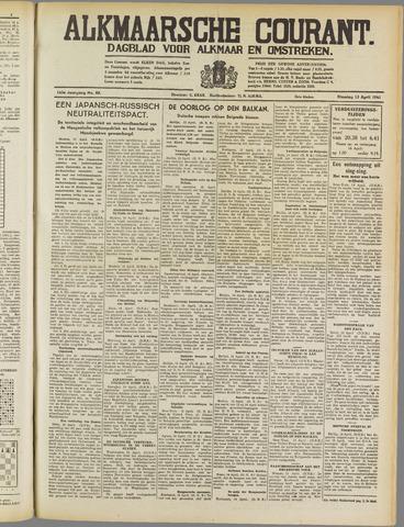 Alkmaarsche Courant 1941-04-15