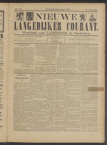 Nieuwe Langedijker Courant 1896-09-27