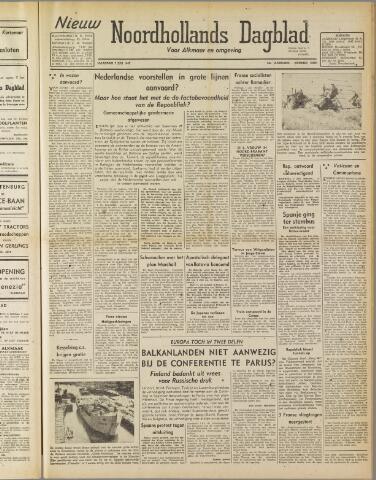 Nieuw Noordhollandsch Dagblad : voor Alkmaar en omgeving 1947-07-07