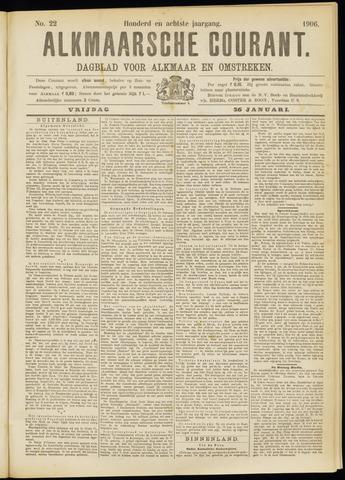 Alkmaarsche Courant 1906-01-26