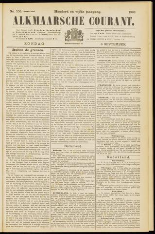 Alkmaarsche Courant 1903-09-06