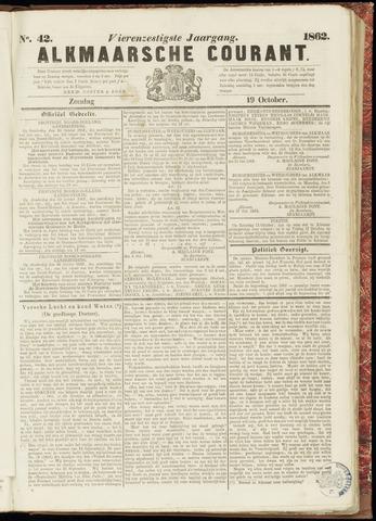 Alkmaarsche Courant 1862-10-19