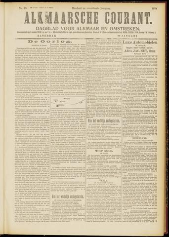 Alkmaarsche Courant 1915-01-23