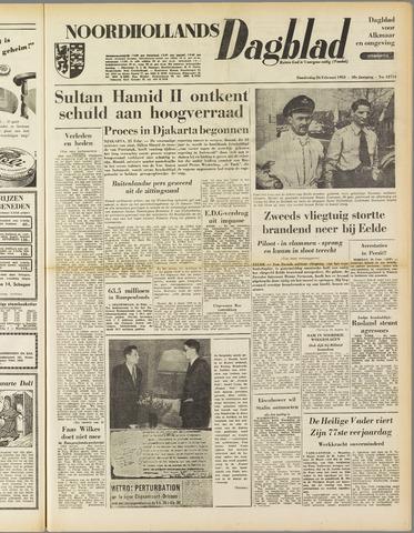 Noordhollands Dagblad : dagblad voor Alkmaar en omgeving 1953-02-26