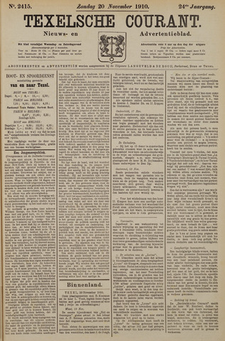 Texelsche Courant 1910-11-20
