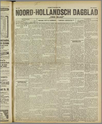 Ons Blad : katholiek nieuwsblad voor N-H 1922-09-12