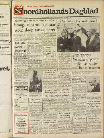 Noordhollands Dagblad : dagblad voor Alkmaar en omgeving 1969-08-20