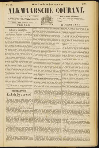 Alkmaarsche Courant 1898-02-18