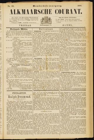 Alkmaarsche Courant 1898-06-10