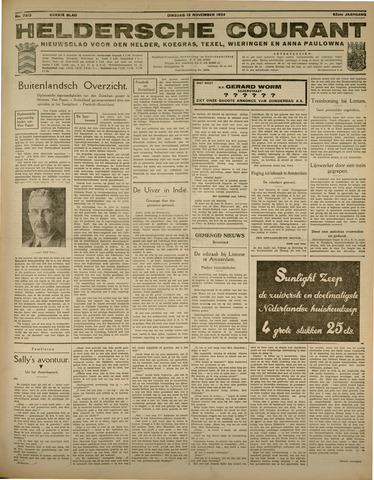 Heldersche Courant 1934-11-13